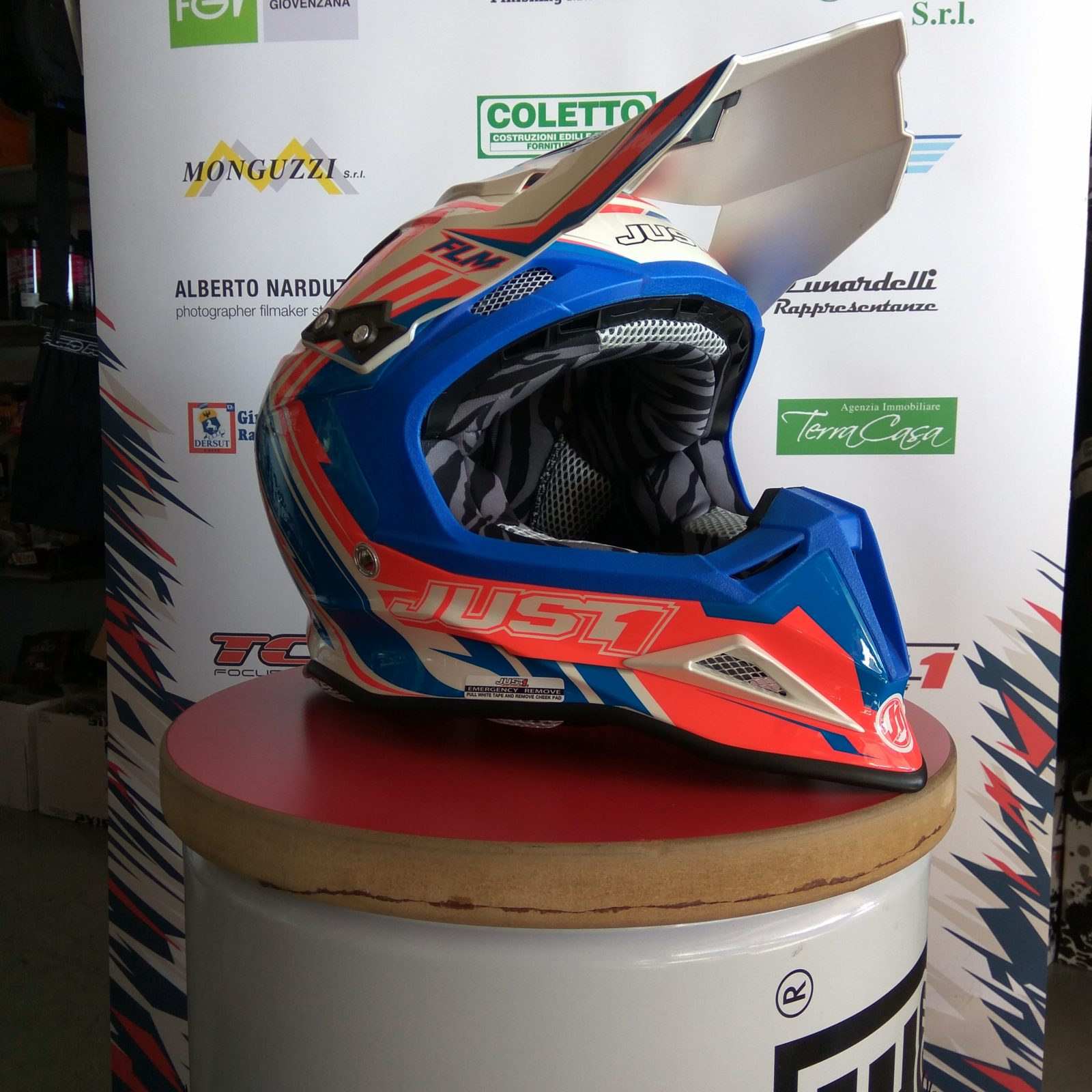 Casco moto cross