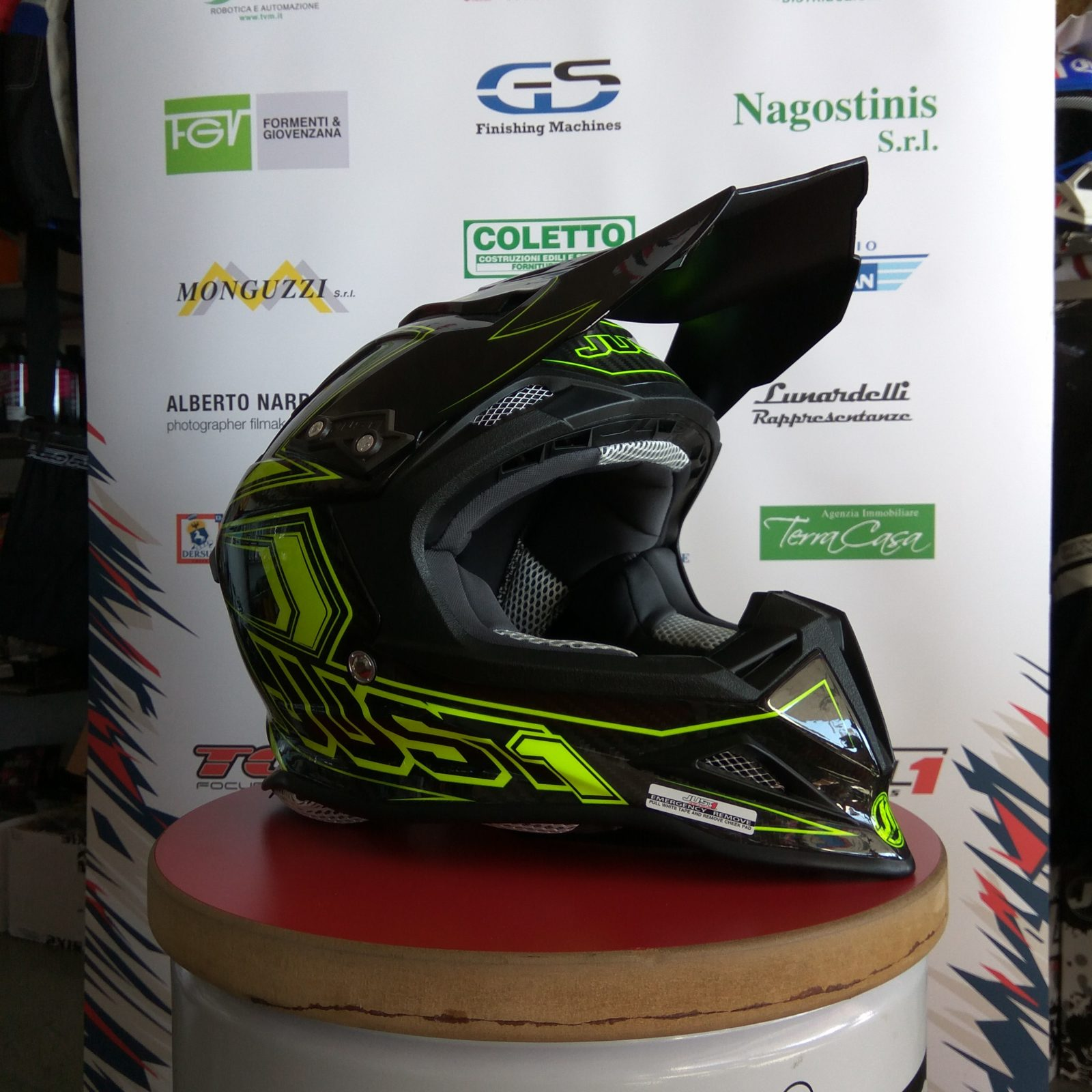 Casco cross Just1