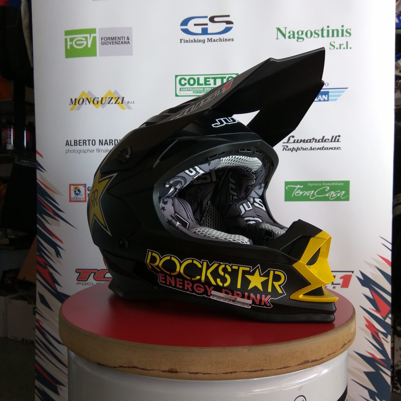 Casco cross