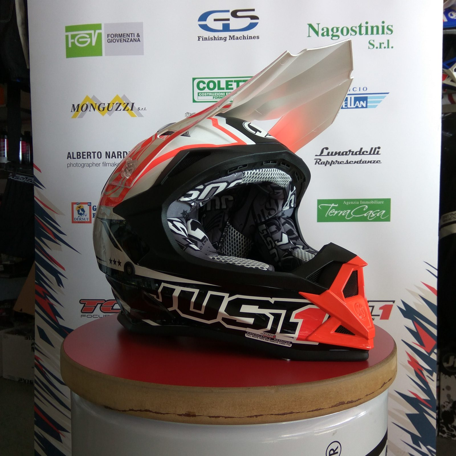 Casco cross NSM Ponte di Piave